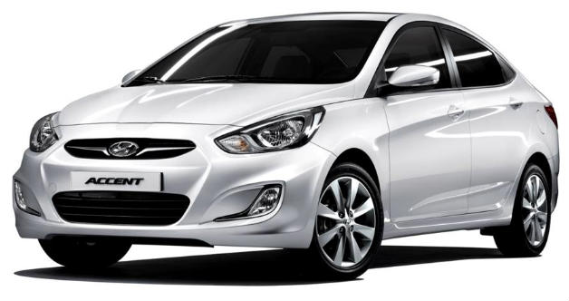 Hyundai Accent Blue Unlead Automatic